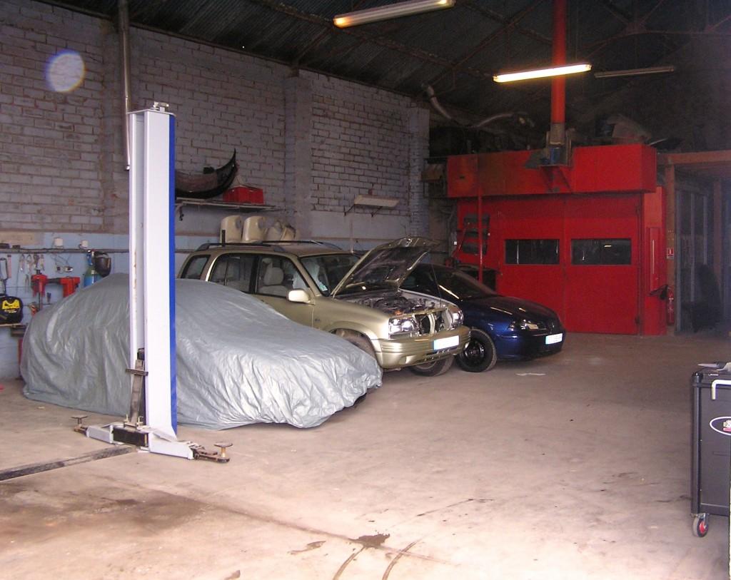 Atelier de réparations
