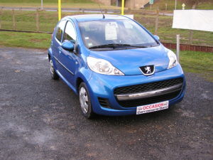 Peugeot 107 blue lion trendy avant